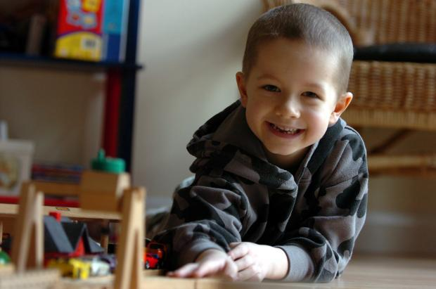After more than a year of gruelling treatment, Jacob has finally achieved remission.