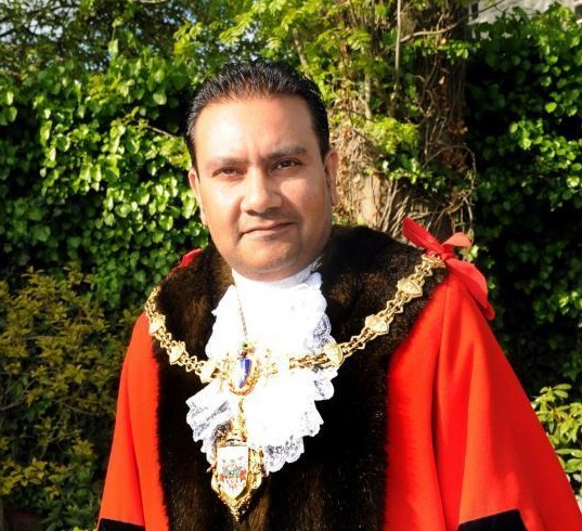 Mayor Cllr Faisal Rashid