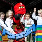 Northwich Guardian: Children from Sale Dojo launch Ninjago event at Legoland Discovery Centre Manchester