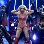 Northwich Guardian: Britney Spears admits to getting 'contact high' on stage