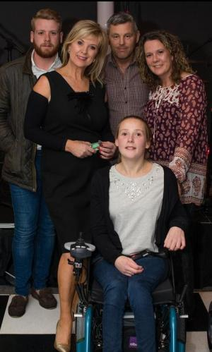 Northwich Guardian: Student Laura Hunt now has a state-of-the-art wheelchair thanks to the generosity of Helsby Golf Club. Click here to read more