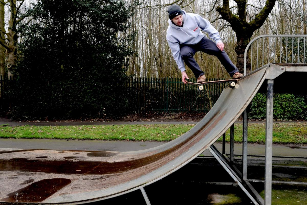 Seasoned skaters ramp up calls for investment in Northwich