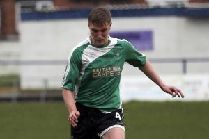 George Whiteoak, a defender, has left 1874 Northwich after making only three appearances. Picture: M Darlington Photography