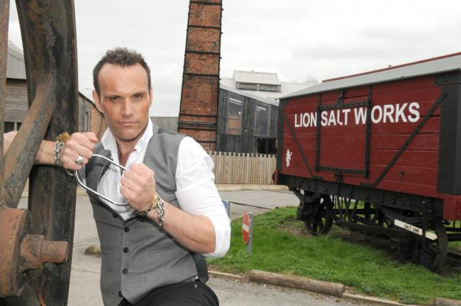 Winsford magician teaches youngsters some tricks for first magic competition at Lion Salt Works