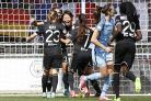 Manchester City Women beaten by Lyon in opening leg of Champions League semi