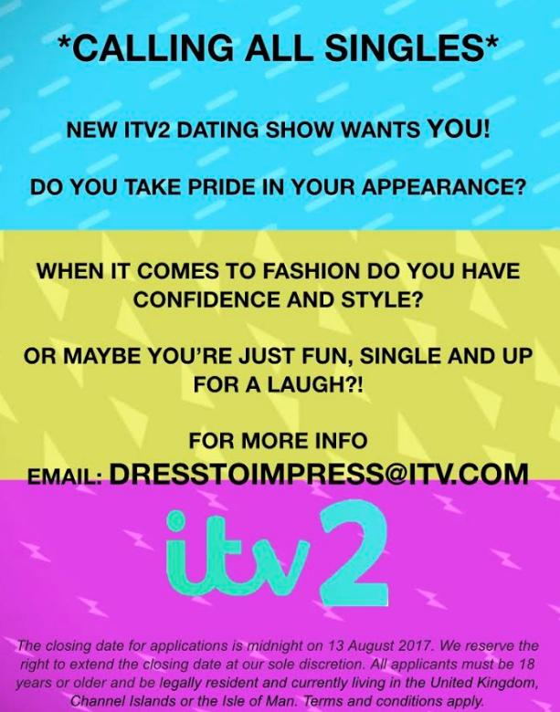 Dating show apply uk