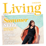 Northwich Guardian: Cheshire Living Cover Summer 2017