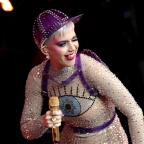 Northwich Guardian: Katy Perry joins crowd at Glastonbury