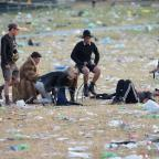 Northwich Guardian: Glastonbury clean-up gets under way