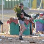 Northwich Guardian: Glastonbury clean-up begins as revellers head home
