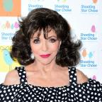 Northwich Guardian: Actress Joan Collins comments on BBC pay gap dispute