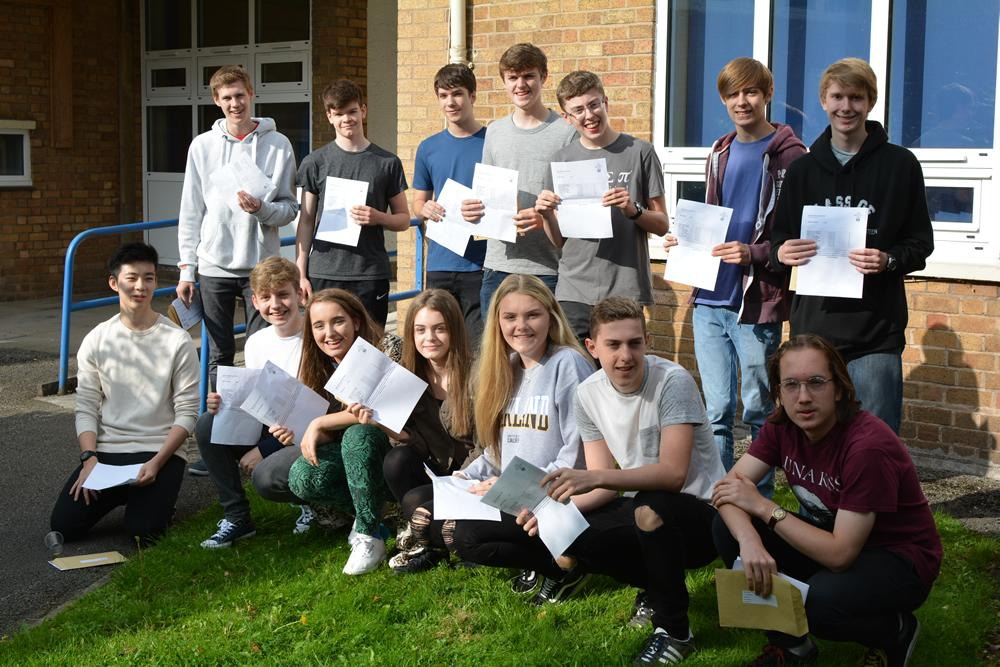 0d6d3fd782 The County High School, Leftwich students raise the bar with their ...