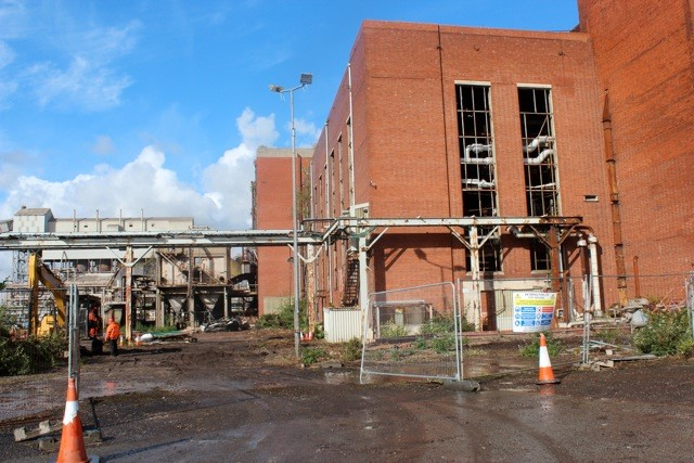 The former Brunner Mond plant in Lostock, which will make way for the new Tata plant. Image: Liam Byrne