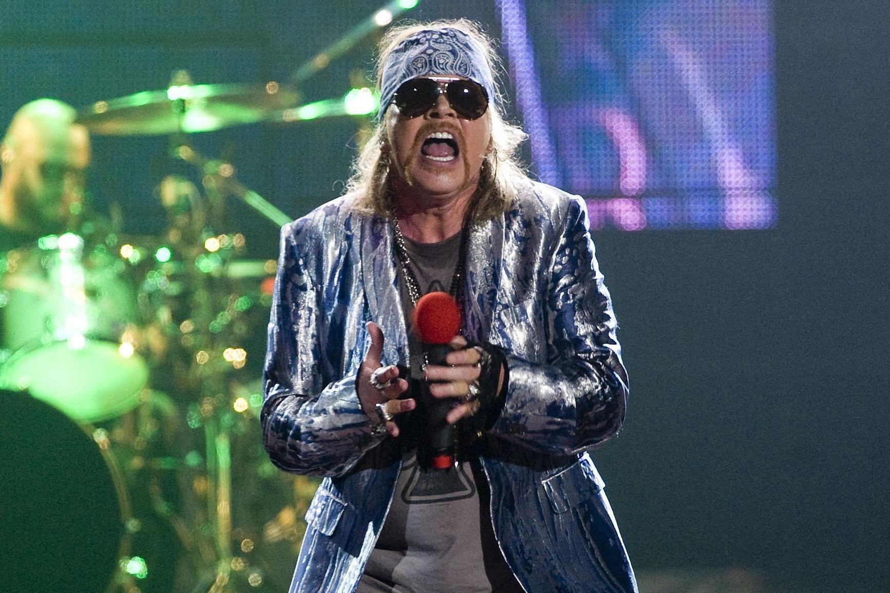 Guns N' Roses to rock out as Download festival headliner (Ian West/PA)