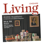 Northwich Guardian: cheshire living cover nov 2017