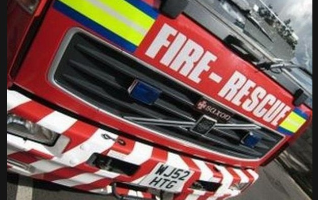 Firefighters deal with Northwich house fire