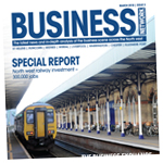 Northwich Guardian: business march 2018 cover