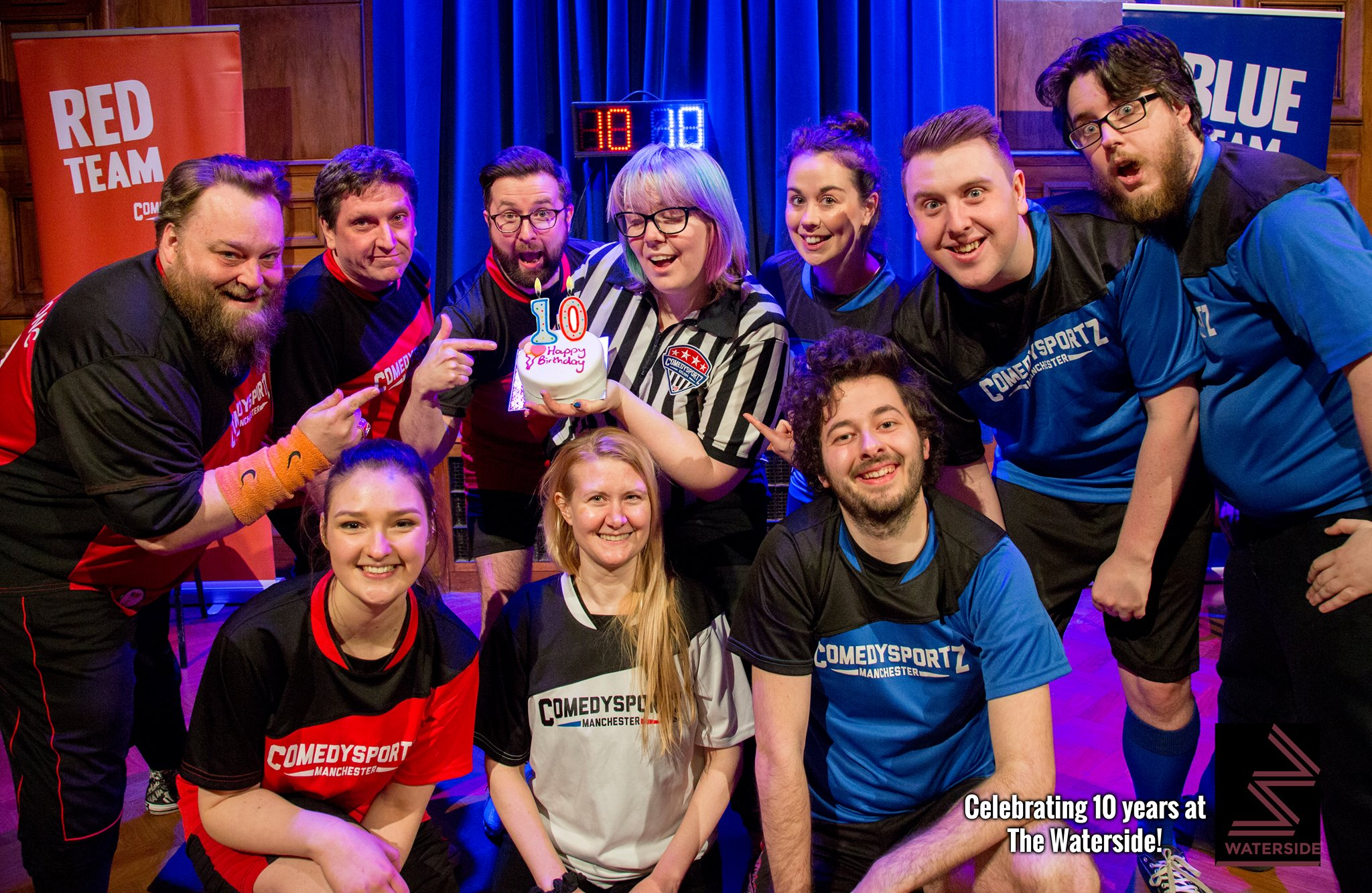 ComedySportz 10 Years At Waterside!