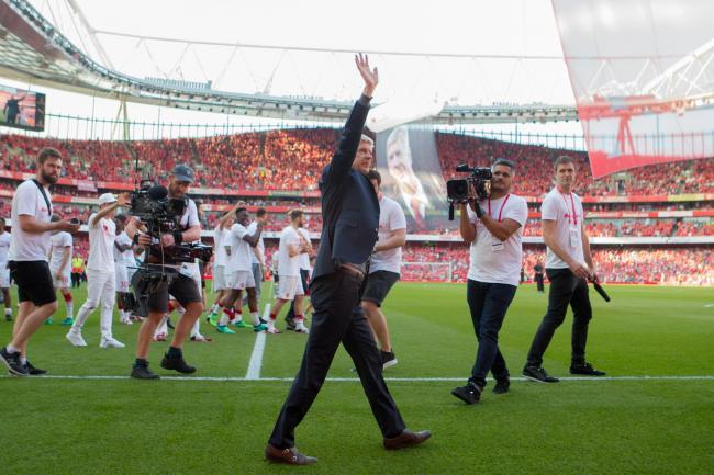 Arsene wenger says arsenal successor will inherit underrated squad arsene wenger bid farewell to the emirates stdium john waltonempics malvernweather Images
