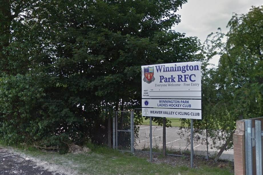 Winnington Park RFC. Google Maps