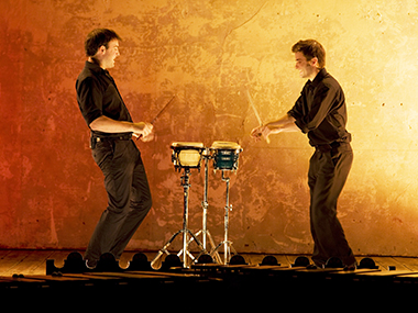 Concert by O Duo (Drums, Bongos and Marimba)