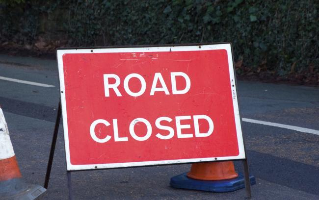 The entry slip road at Rainhill and Widnes remains closed today, Tuesday