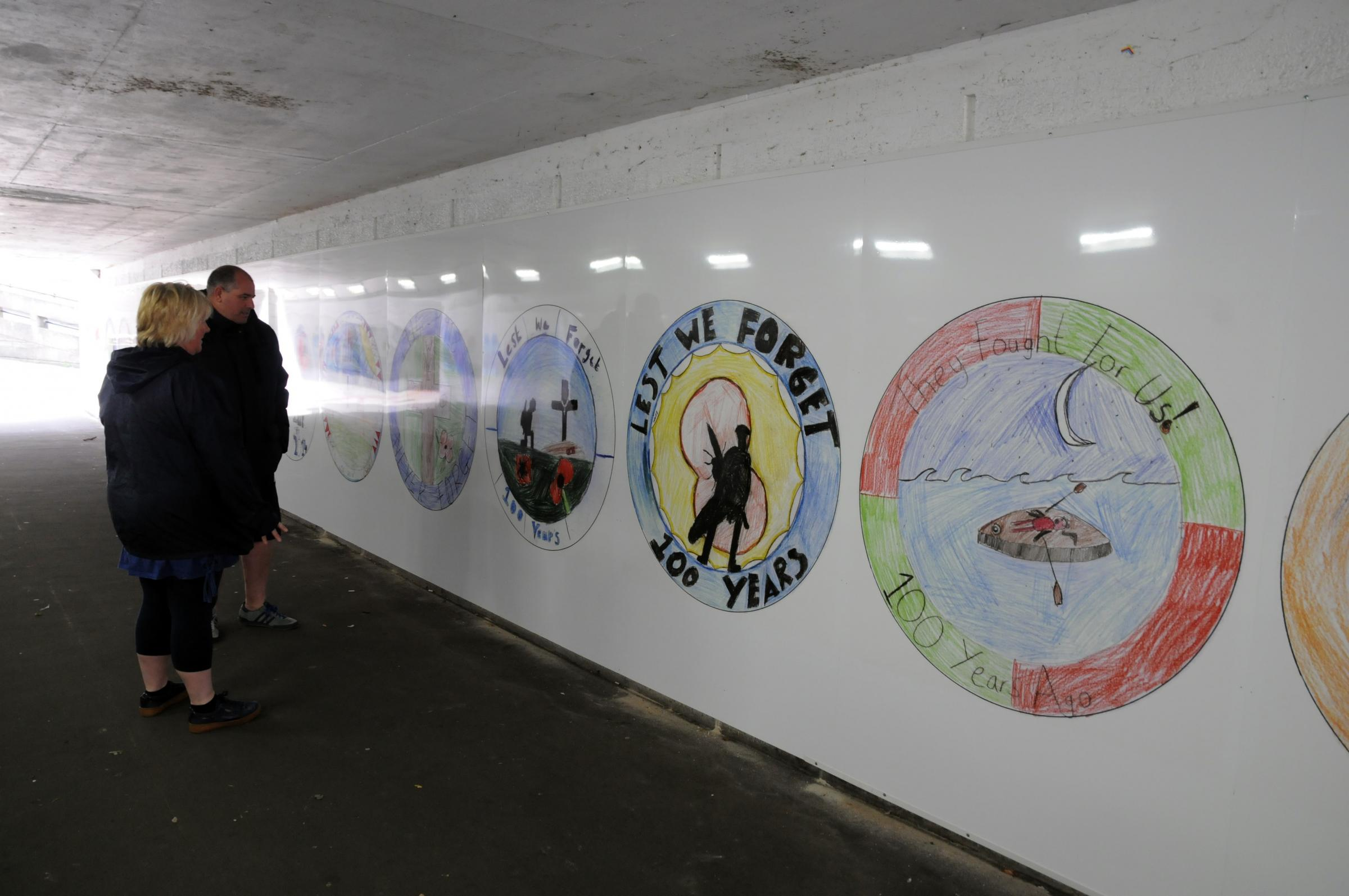 Future is bright for art-covered Northwich subway