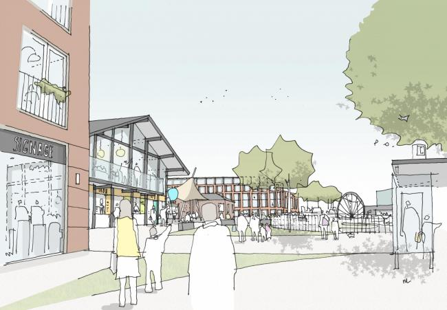Weaver Square artist's impression