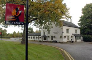 Northwich Guardian: The Fox and Barrel
