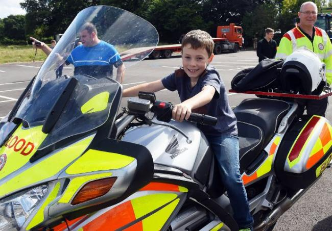 LETTER: Blood bikes support
