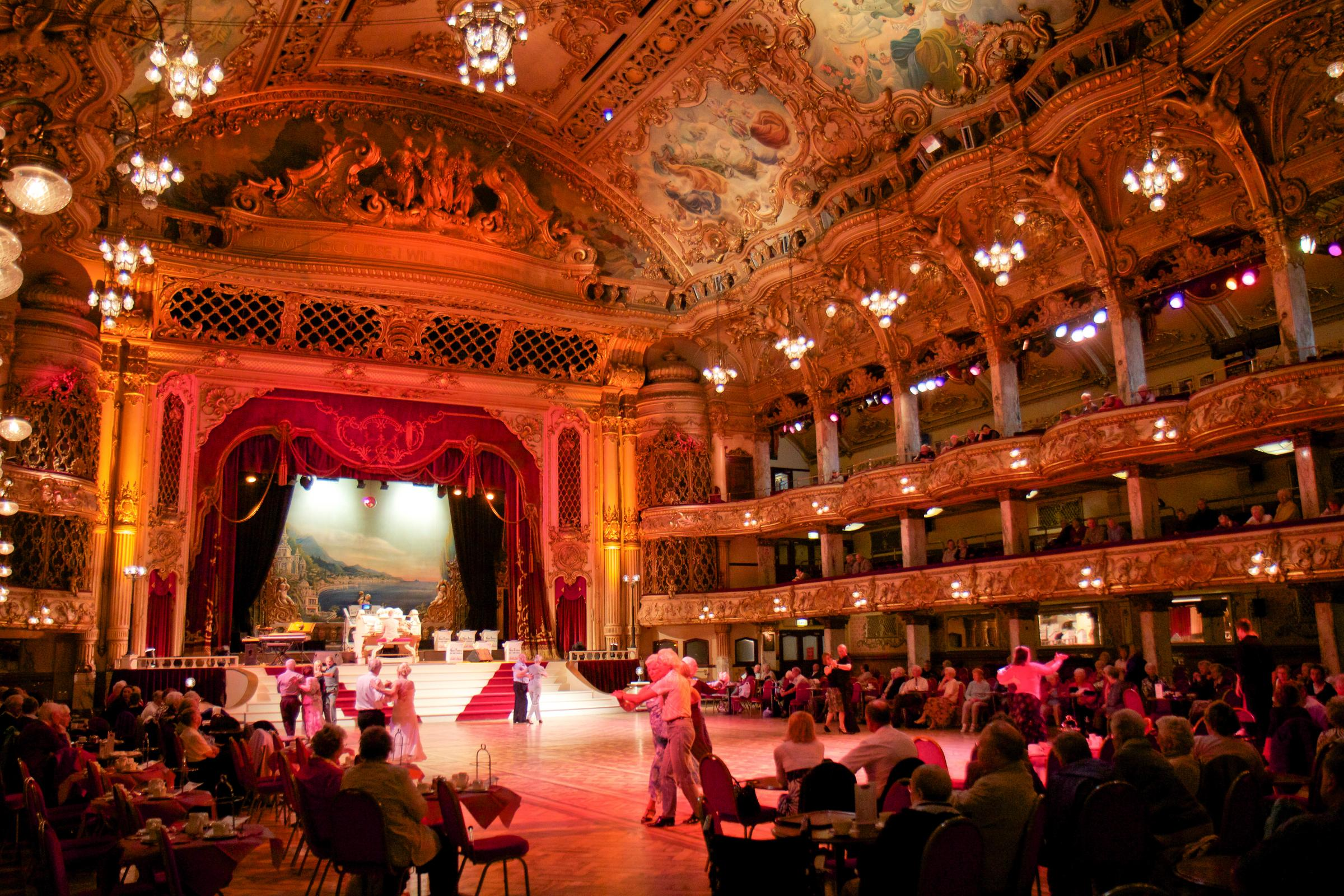 The Blackpool Tower Ballroom Halloween Family Party