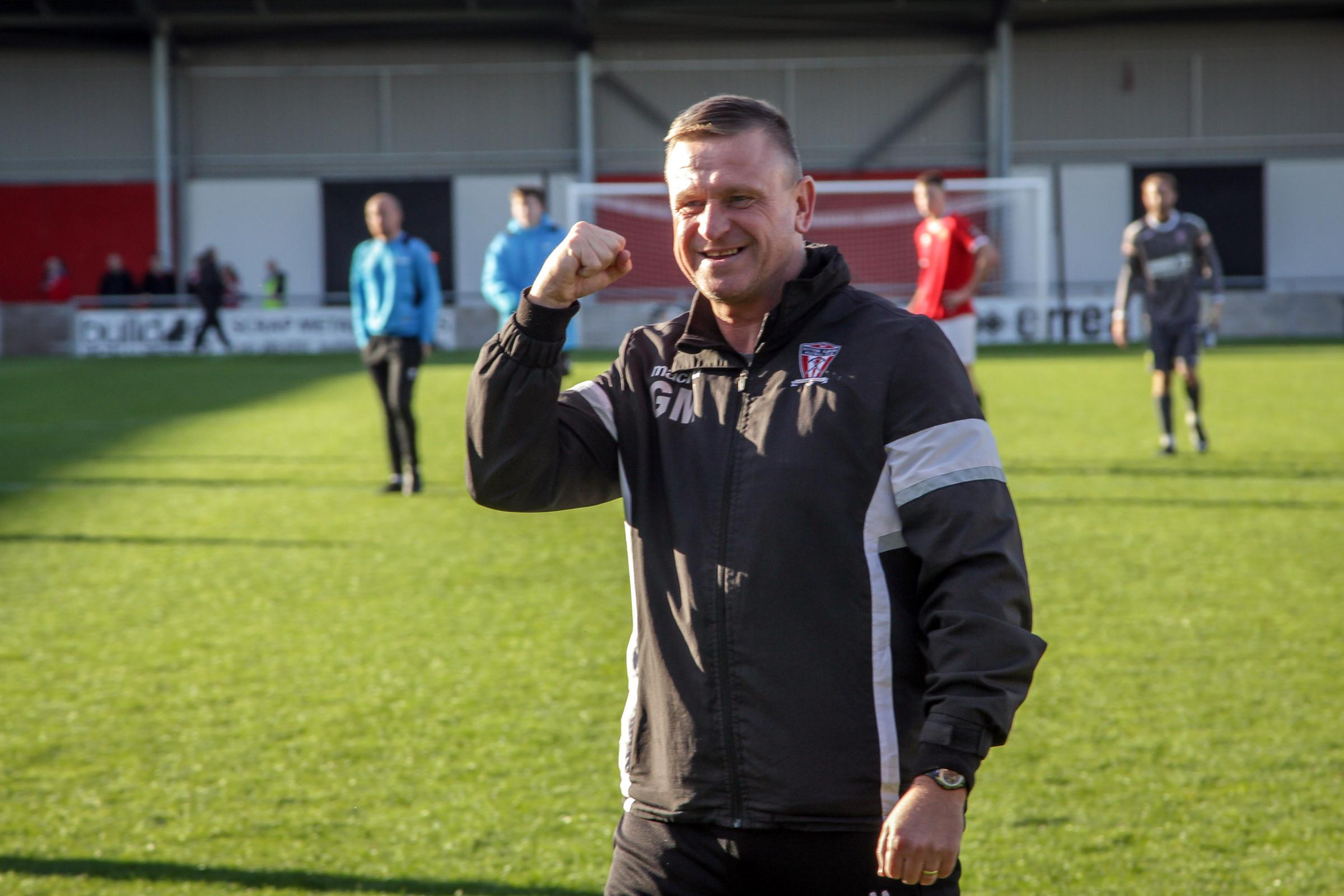 Gary Martindale, Witton Albion's assistant manager. Picture: Karl Brooks Photography