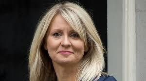 MP Esther McVey is switching on the Christmas lights