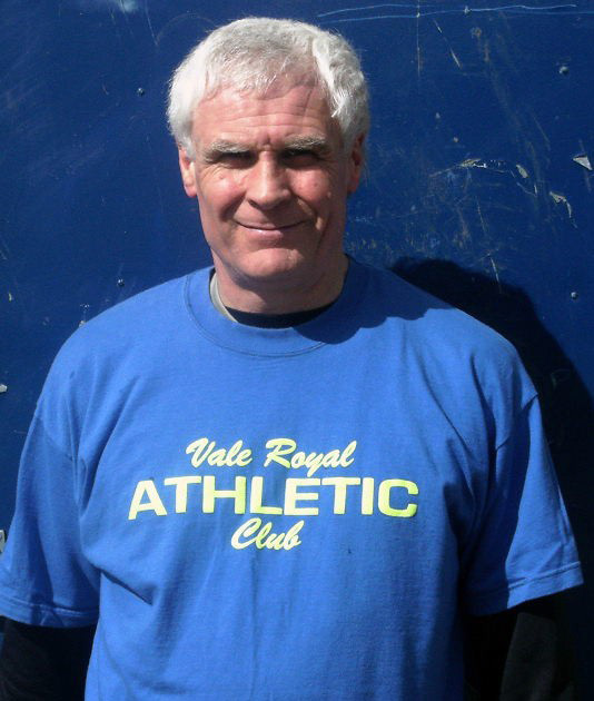 Andy Carter, endurance performance coach at Vale Royal Athletics Club