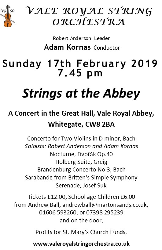 Strings at the Abbey