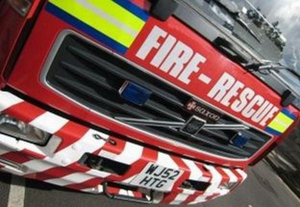 Arson investigation after car fire near Anderton Boat Lift