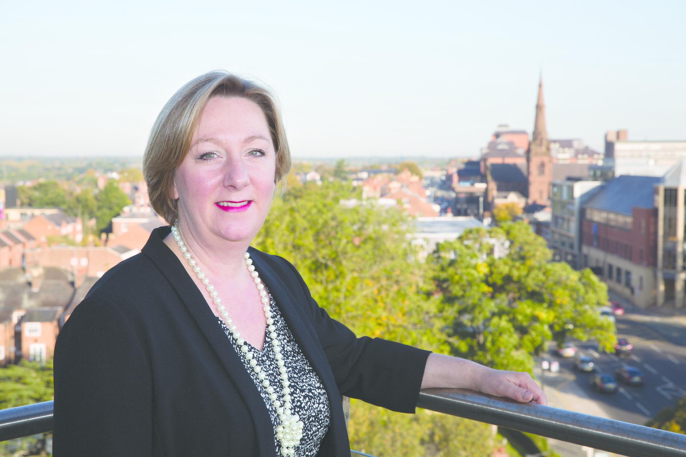 Cllr Samantha Dixon, leader of Cheshire West and Chester Council.