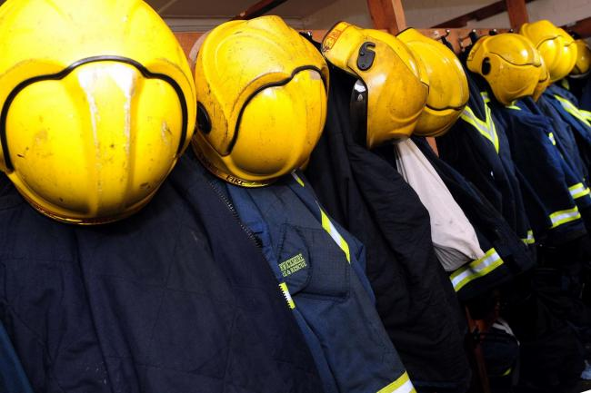 Firefighters rescue trapped man in Barnton after concrete roof collapses