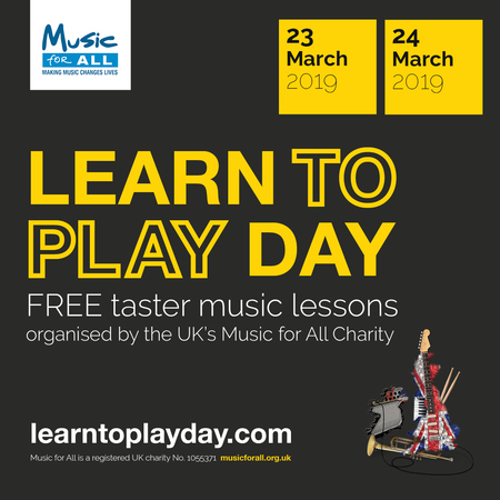 Learn to Play Day is coming to Cheshire