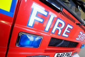 Cheshire Fire Service sent two appliances to the scene.