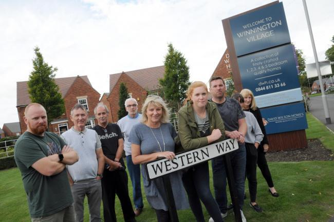 Winnington Village leaseholders have previously called for action