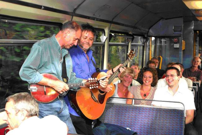 Music Train on the Mid Cheshire Line