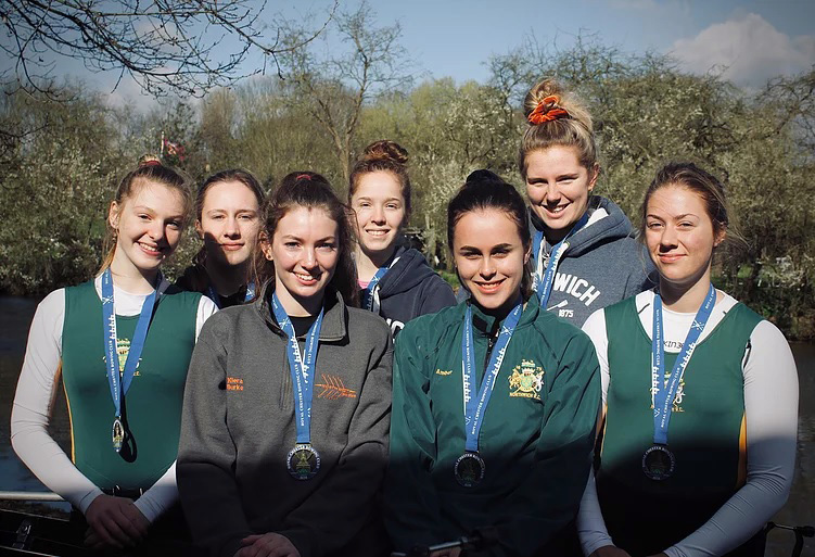 Members of Northwich Rowing Club's junior girls' squad claimed two category wins during the North of England Head over a 5km course on the River Dee at Chester on Saturday