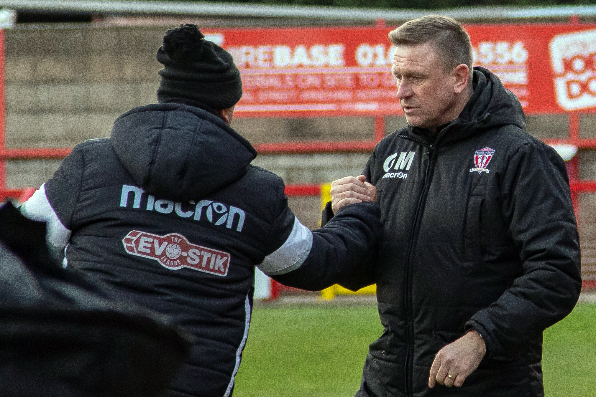 Gary Martindale said that Witton Albion were made to pay for not taking the lead while they made the running during a Northern Premier League encounter with Grantham Town last weekend. Picture: Karl Brooks Photography