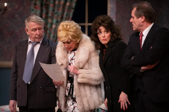 Mike Shaw as Norman, Kim Armston as Rose, Sarah O'Reilly as Hilda and Jonathan Black as Stanley