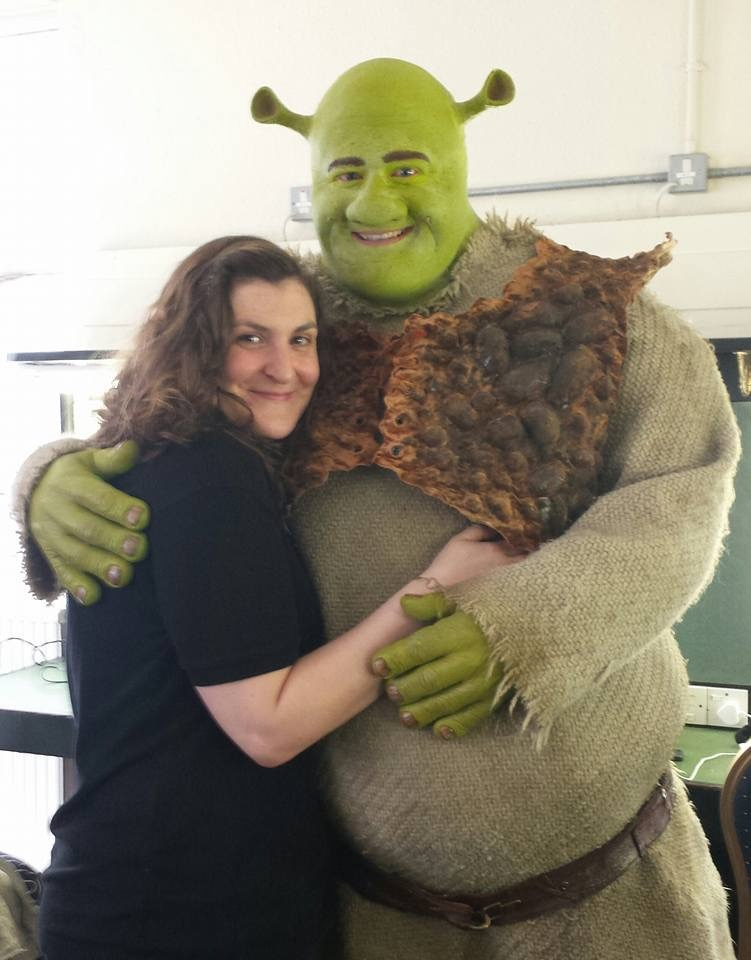 Catherine and Dean Chisnall as  Shrek