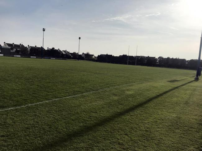 The scene at New Brighton Rugby Club's Hartsfield home before this season's Cheshire RFU Finals Day on Easter Saturday which features both Northwich and Winnington Park in different games