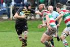 Chris Heywood, left, and his Northwich teammates attempt to win the Cheshire RFU Vase for a fourth time when they take on Birkenhead Park in the final at New Brighton on Saturday. Picture: Ken Houghton