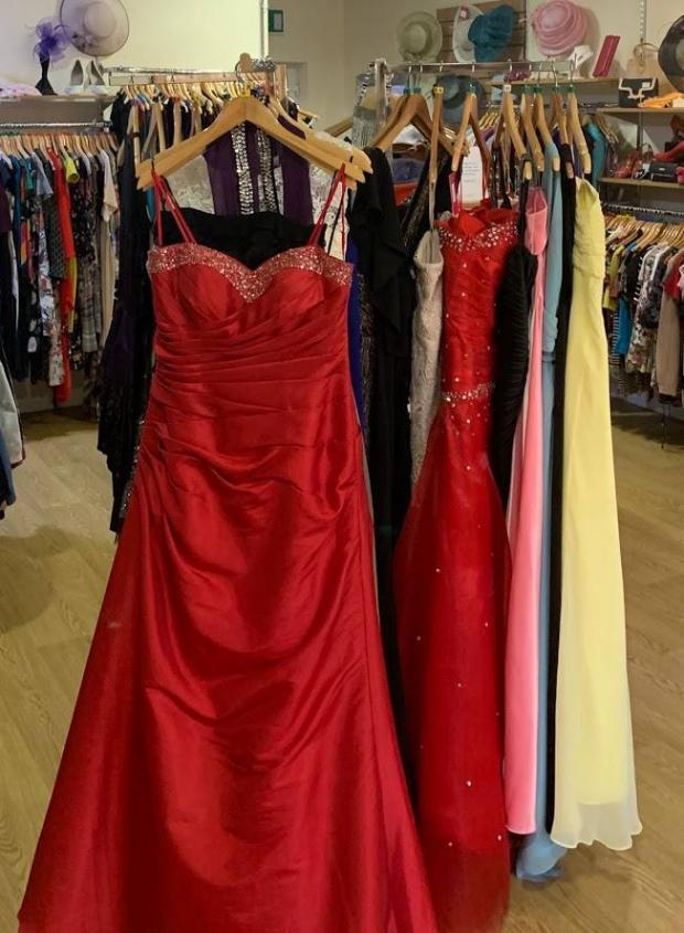 68dbc4acae2a0 Northwich Guardian: Girls were amazed at the selection and quality of the  new and pre-loved prom dresses ...