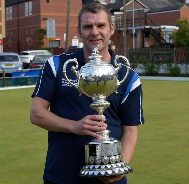 Steve Curbishley, of Castle, was the outstanding individual performer for Cheshire during the home leg of their British Senior County Championship opener against South Yorkshire at Rudheath on Sunday